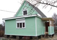 Жилая пристройка к деревянному дому 3х4