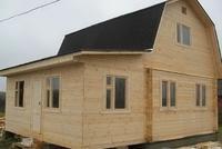Каркасная пристройка к деревянному дому 5х2
